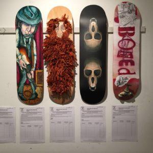 MOSS Foundation Deck Art Show 2016